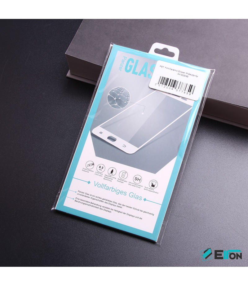 PET Film/Ceramic Screen Protector für Galaxy S9 (Transparent), Art:000590