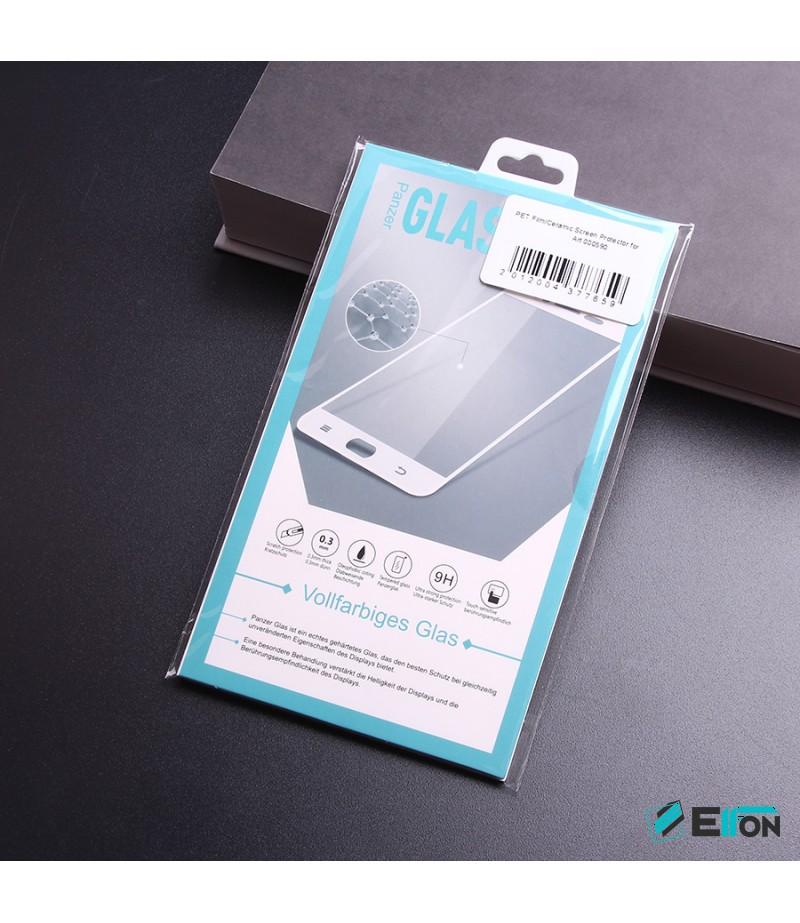 PET Film/Ceramic Screen Protector für Galaxy S8 (Transparent), Art:000590