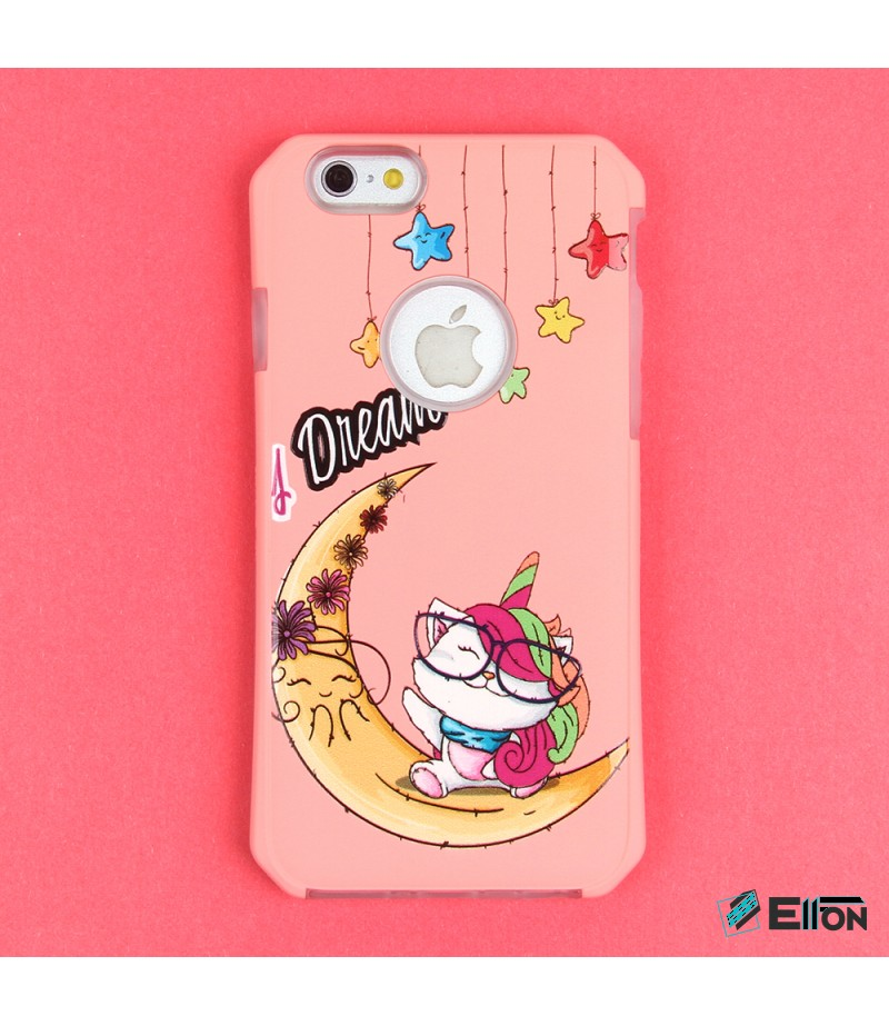 2in1  tpu +PC oily +printing picture für iPhone 6/6s Art.:000695
