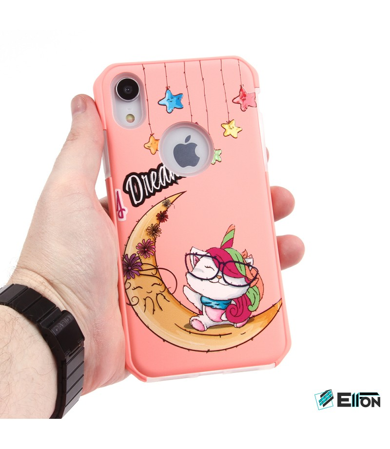 2in1  tpu +PC oily +printing picture für iPhone XR Art.:000695