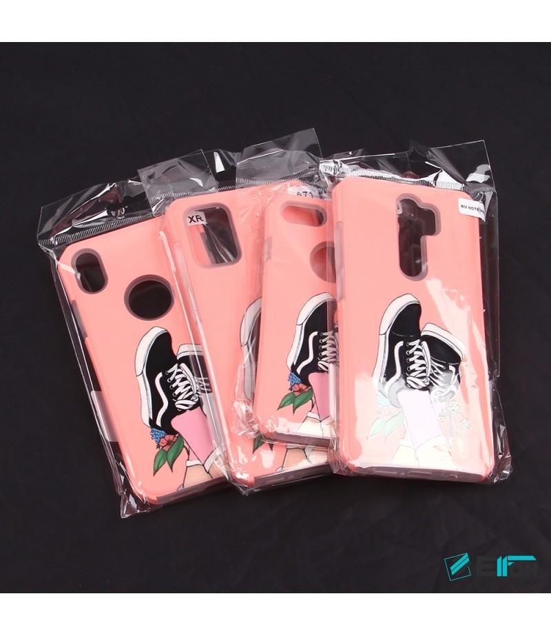 2in1  tpu +PC oily +printing picture für iPhone X/XS Art.:000696