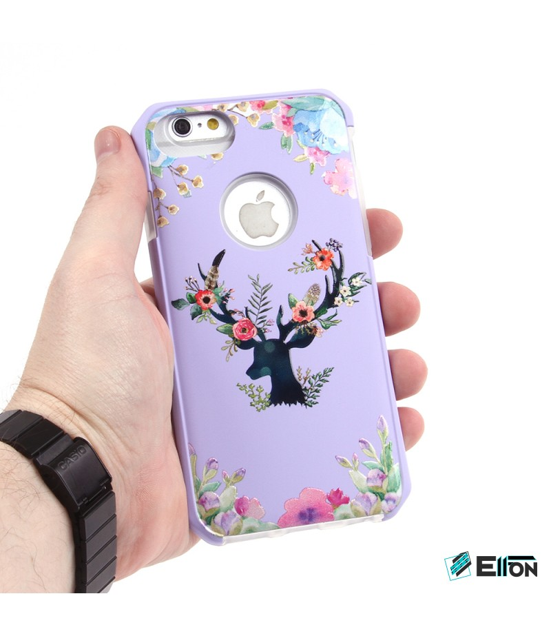 2in1  tpu +PC oily +printing picture für iPhone 6/6s Art.:000697