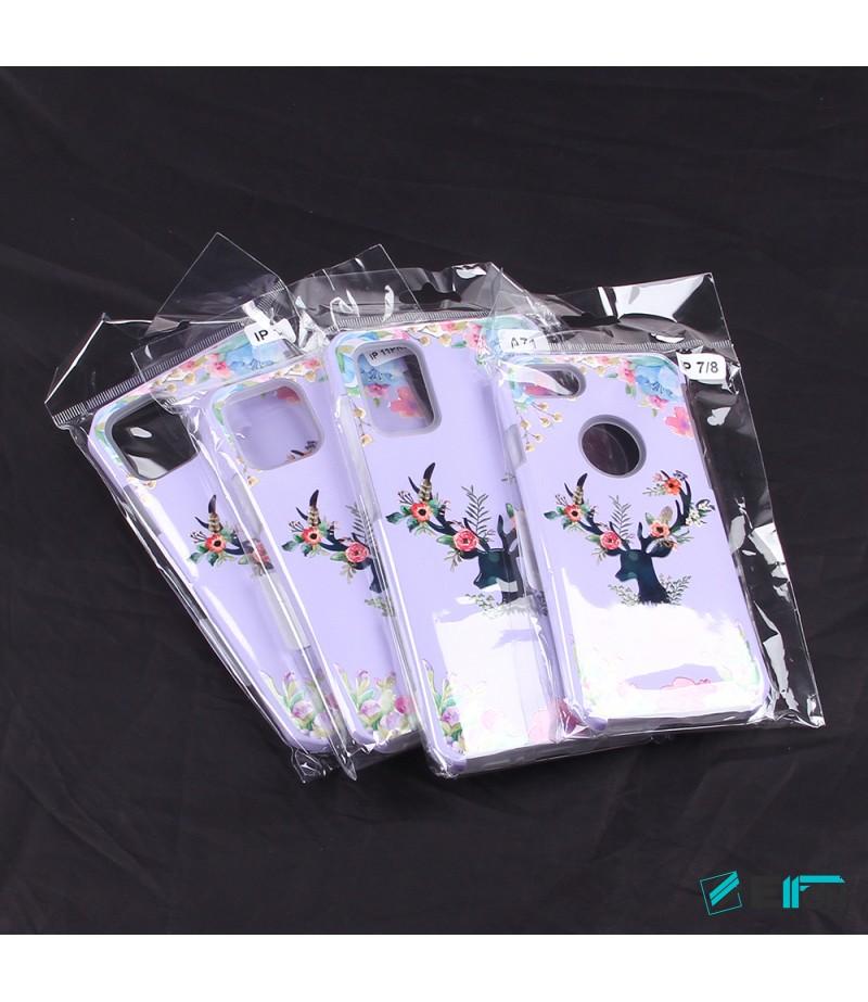 2in1  tpu +PC oily +printing picture für iPhone X/XS Art.:000697