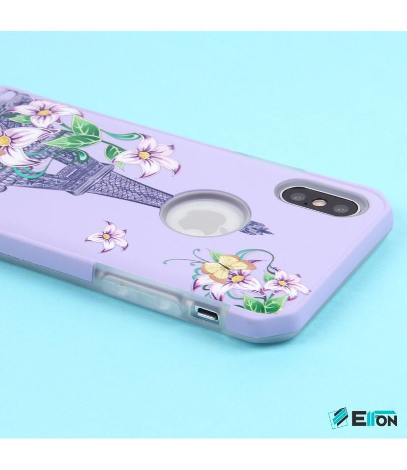 2in1  tpu +PC oily +printing picture für iPhone X/XS Art.:000698