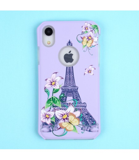 2in1  tpu +PC oily +printing picture für iPhone XR Art.:000698