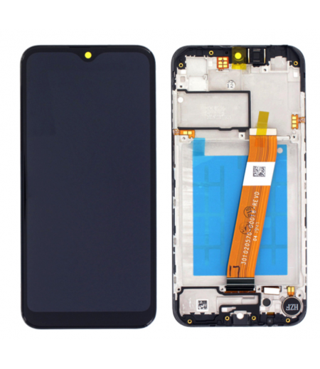 Samsung Galaxy A01 CORE Display and Digitizer Black with frame