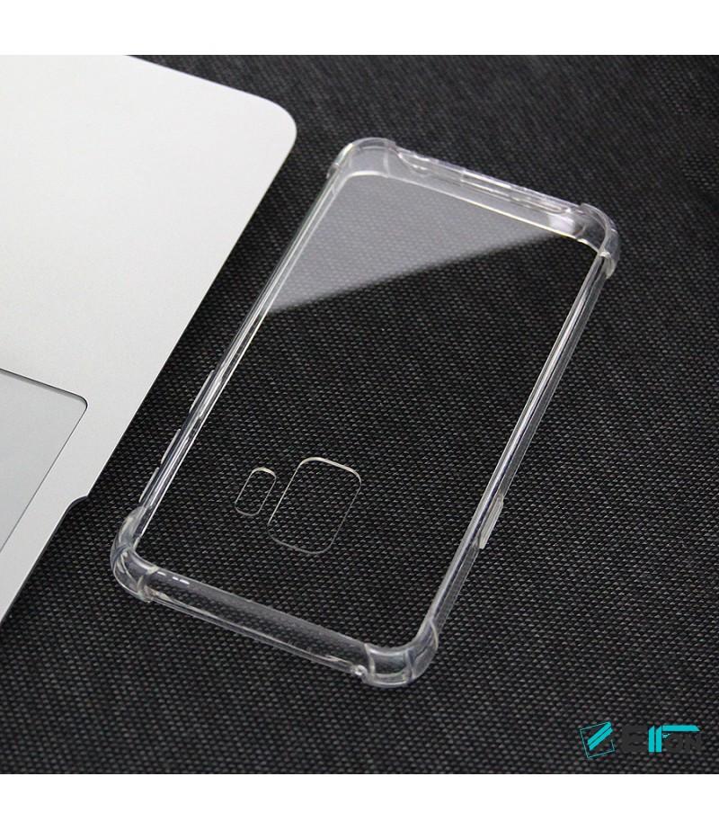 Elfon Drop Case TPU Anti-Rutsch Kratzfest Crystal (1mm) für Samsung Galaxy S9, Art.:000308