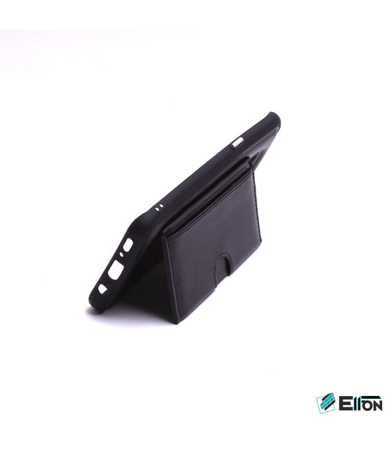 Elegance Handyhülle mit Kartenfach und Standfunktion für Samsung Galaxy S8, Art:000148
