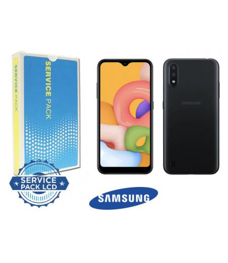 Samsung Galaxy A02 A022F Display and Digitizer Black with frame