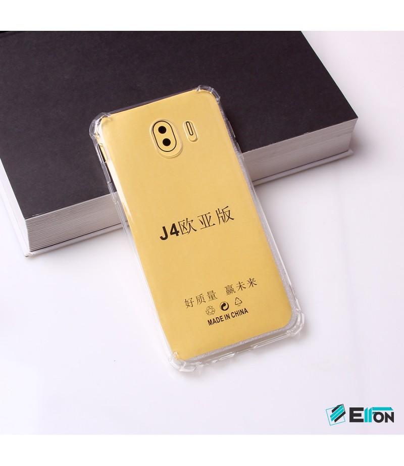 Drop Case TPU Schutzhülle (1mm) mit Kantenschutz für Samsung Galaxy J4 (2018), Art:000494