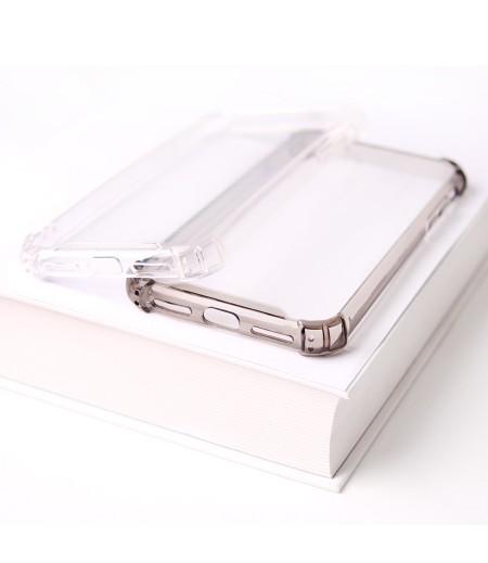 Vorpräparierte Hülle mit LöchernTPU+PC hart kristallklar für iPhone XR, Art.:000004