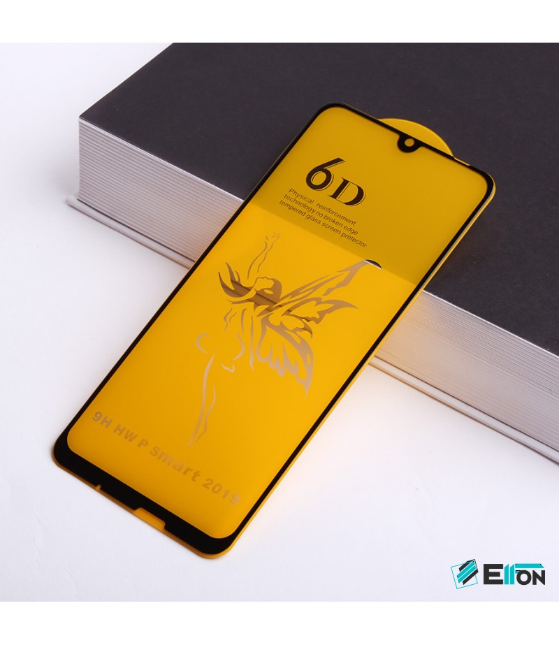 Full Glue Curved Tempered Glass Screen Protector für Huawei P smart 2020 /Honor 10 Lite , Art:000298