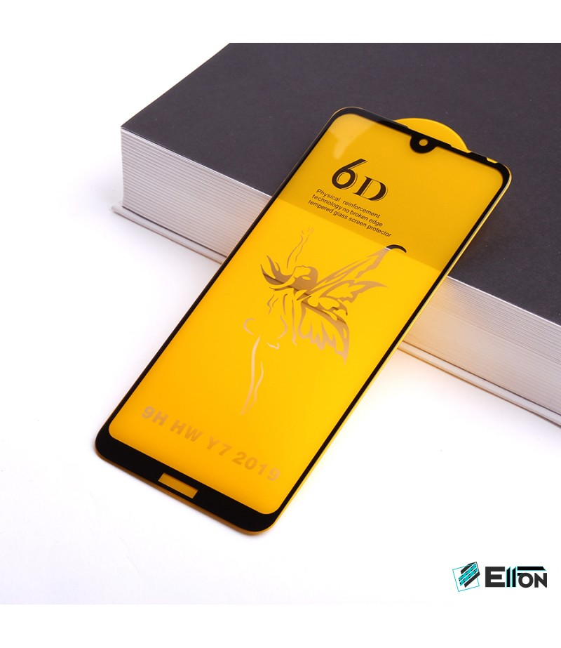 Full Glue Curved Tempered Glass Screen Protector für Huawei Y7 2019/ Y7 Pro 2019, Art:000298