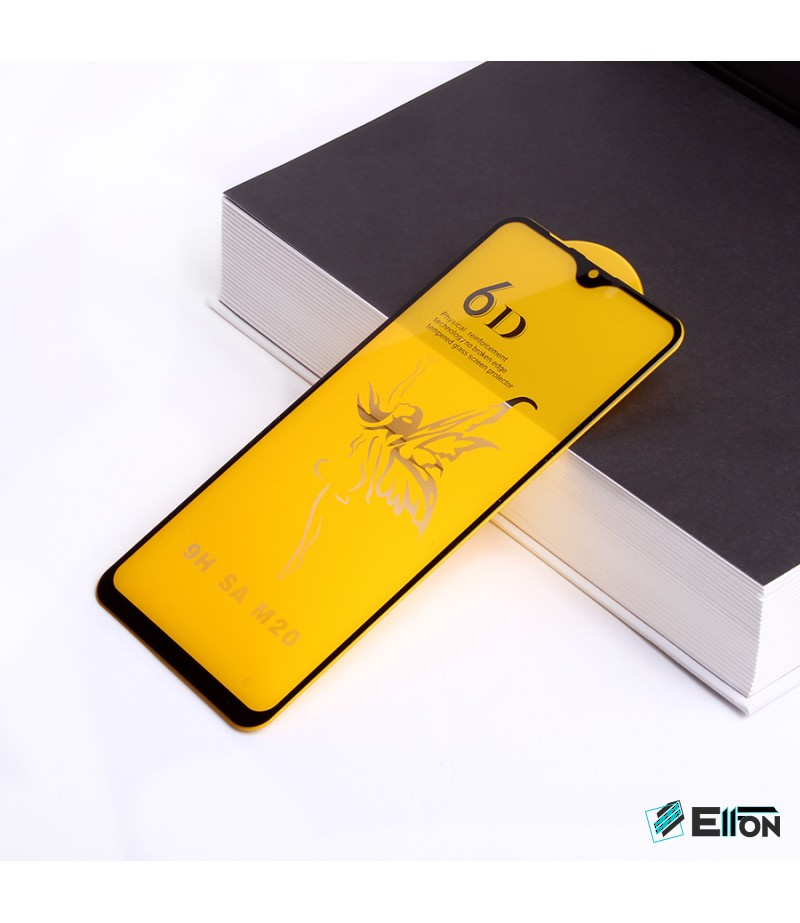 Full Glue Curved Tempered Glass Screen Protector für Samsung M20, Art:000298
