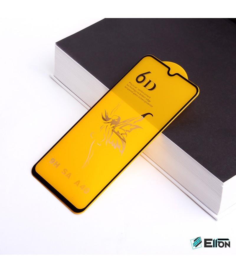 Full Glue Curved Tempered Glass Screen Protector für Samsung A40, Art:000298