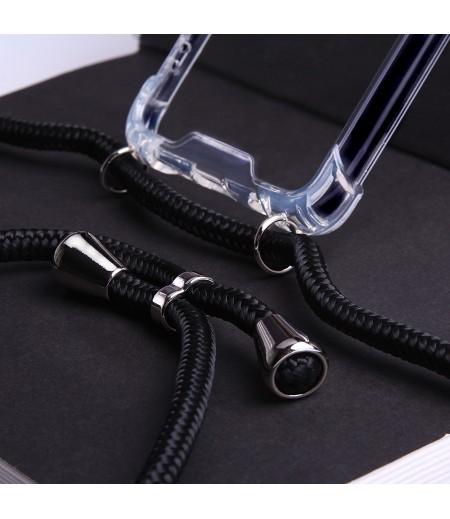 Crossbody-Handykette (with Silver Accessories) für iPhone X/XS, Art:000593