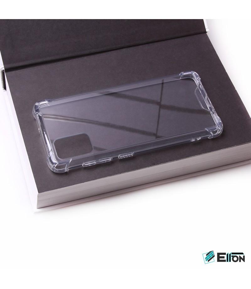 Vorpräparierte Hülle mit LöchernTPU+PC hart kristallklar für Samsung Galaxy A50, Art.:000004