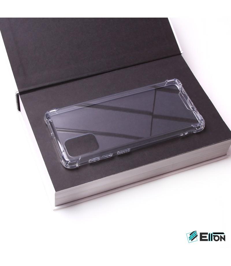 Vorpräparierte Hülle mit LöchernTPU+PC hart kristallklar für Samsung Galaxy A71, Art.:000004