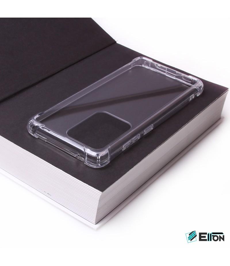 Vorpräparierte Hülle mit LöchernTPU+PC  kristallklar für Samsung Galaxy S20 Ultra, Art.000004
