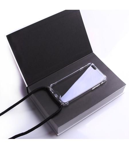 Crossbody-Handykette (with Silver Accessories) für iPhone 6/6s, Art:000593