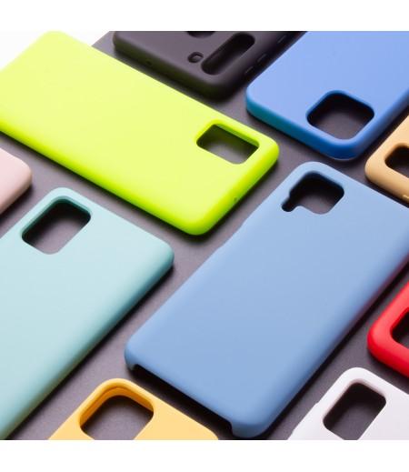 Soft touch Silicone Case für Samsung A20S, Art.:000104-1