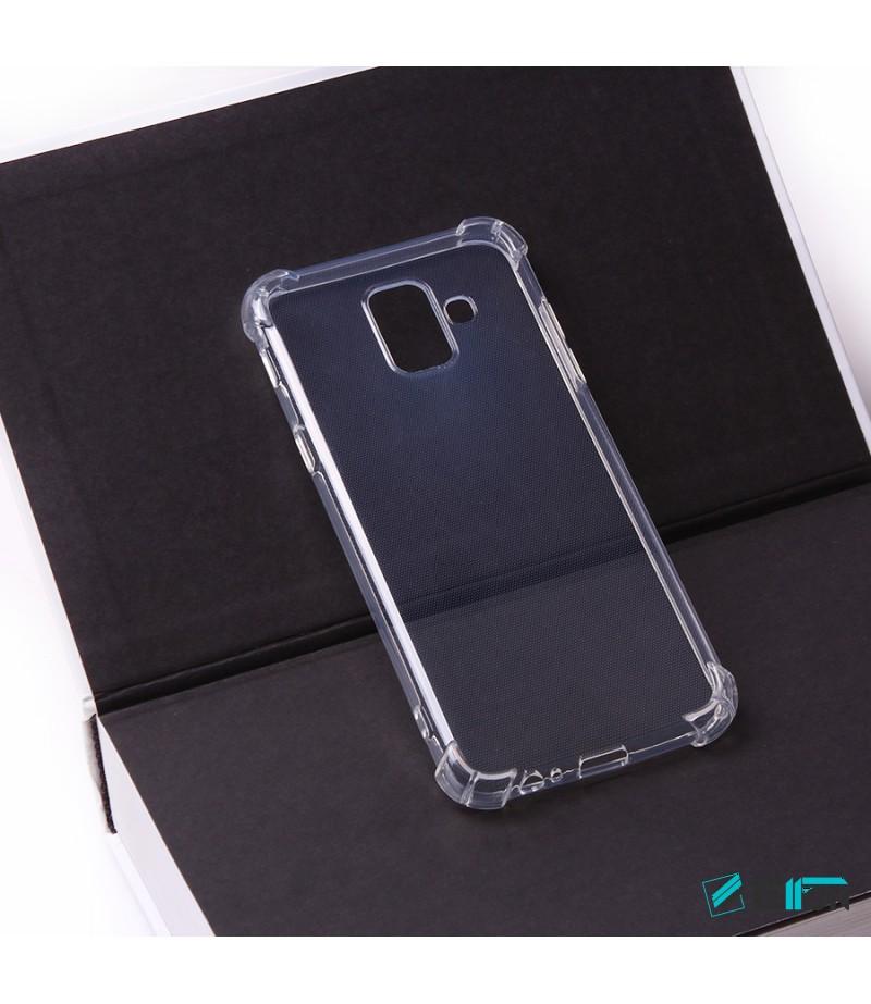 Elfon Drop Case TPU Schutzhülle mit Kantenschutz für Samsung Galaxy A6 (2018), Art.:000228