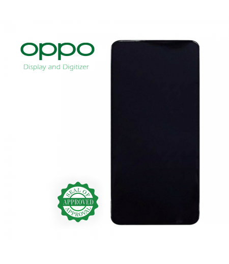 For Oppo A15 Display Black (OEM)