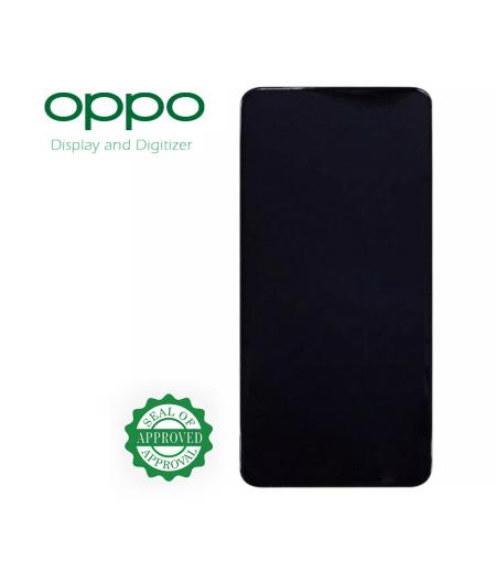 For Oppo Reno 4 Display Black (OEM)