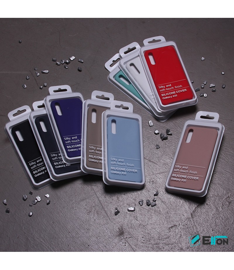 Soft touch silicone case für Galaxy A50, Art.:000537-1