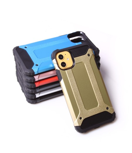 Shockproof cover 2 in 1 (TPC+PC) für iPhone 11 Pro, Art.:000528