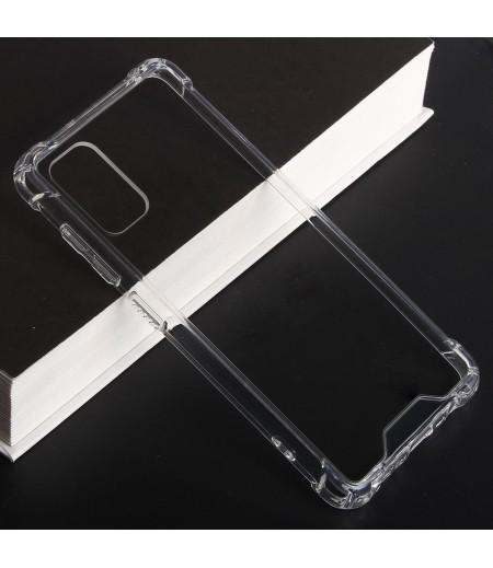 Vorpräparierte Hülle mit LöchernTPU+PC hart kristallklar für Samsung Galaxy A41, Art.:000004