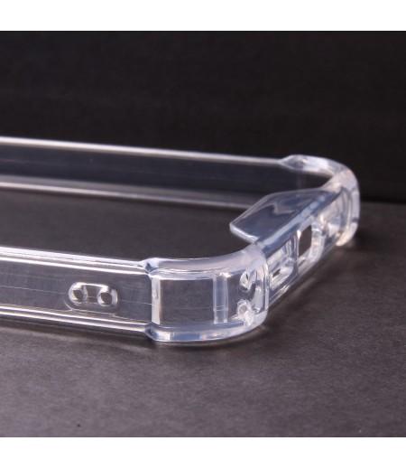 Vorpräparierte Hülle mit Löchern TPU+PC kristallklar für Samsung Galaxy Note 10 Pro/Plus, Art:000004