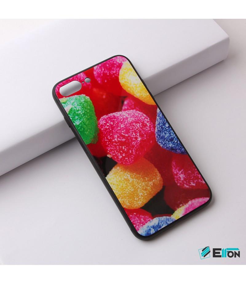 Glascase mit Musteraufdruck (Gummibärchen) für Samsung S8 Art.:000218