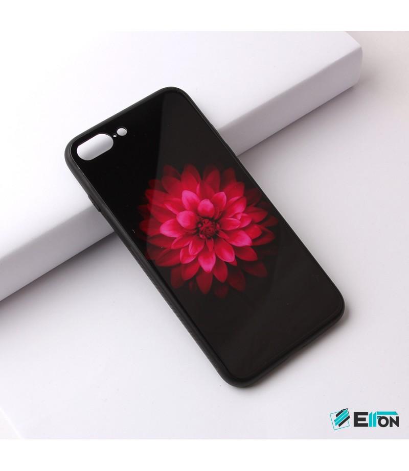 Glascase mit Musteraufdruck (Blume) für Samsung S8 Art.:000219