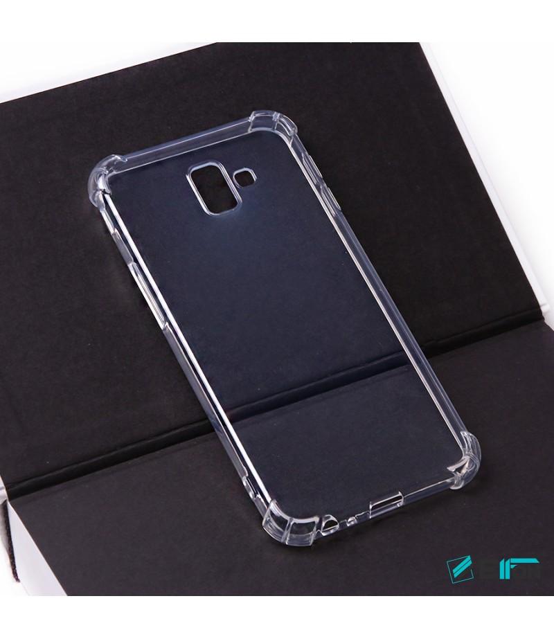 Elfon Drop Case TPU Schutzhülle mit Kantenschutz für Samsung Galaxy J4 (2018), Art.:000228