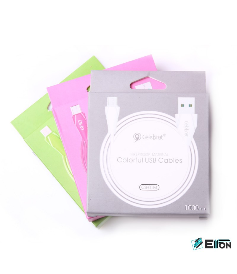 Celebrat CB-01M Micro USB Kabel, Art.:000044