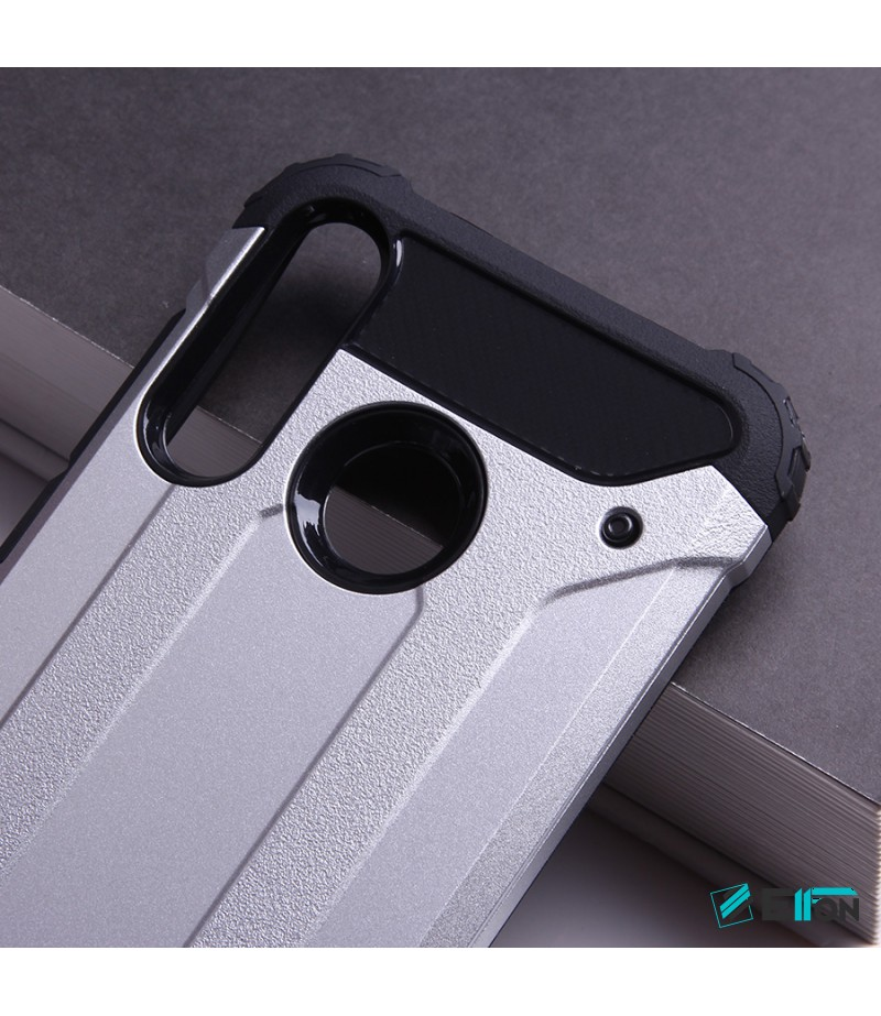 Shockproof cover 2 in 1 (TPC+PC) für Huawei P30 Lite, Art.:000528