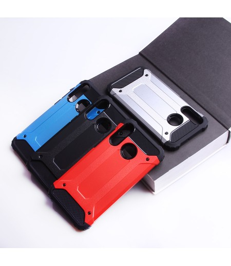 Shockproof cover 2 in 1 (TPC+PC) für Huawei P30 Lite, Art.:000528