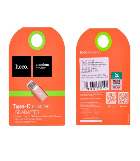 Hoco Type-C to Micro Adapter, Art.:000492