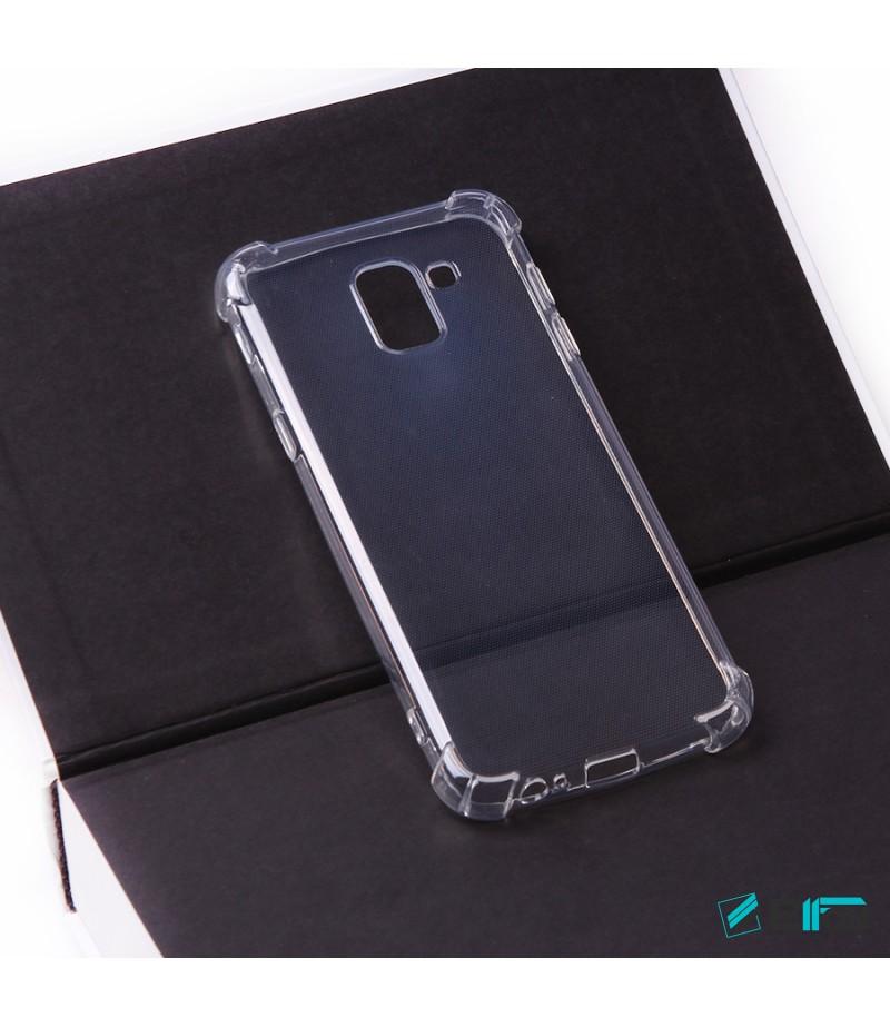 Elfon Drop Case TPU Schutzhülle mit Kantenschutz für Samsung Galaxy J6 (2018), Art.:000228