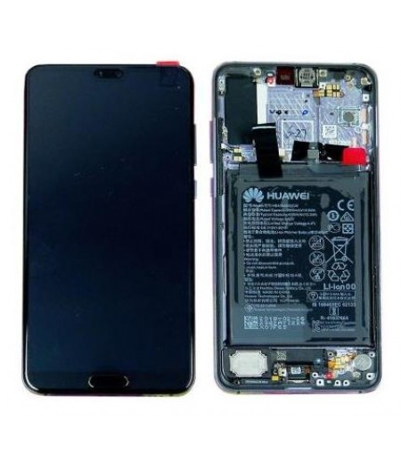 Huawei P20 Pro Display and Digitizer Complete Mid. Blue (Service-Pack)