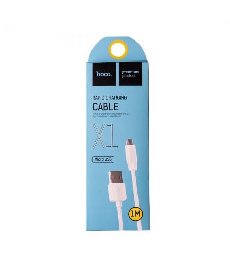 Hoco X1 Schnellladekabel für Micro USB 1m, Art.:000090