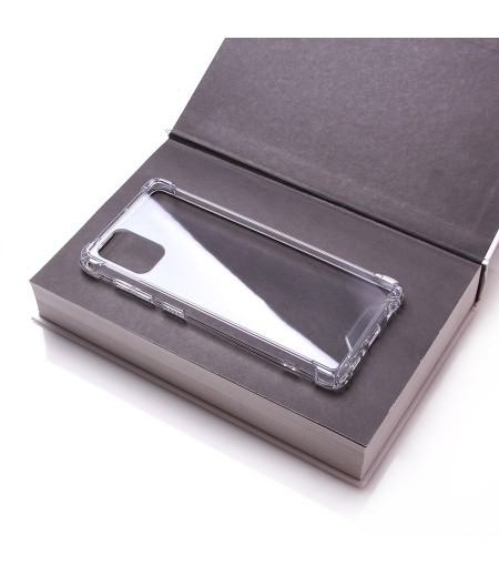 Vorpräparierte Hülle mit LöchernTPU+PC hart kristallklar für iPhone 11, Art.:000004