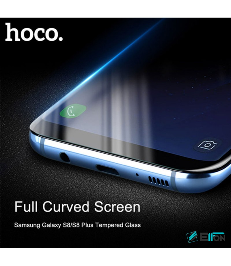 Hoco Curve Full Protection Tempered Glass für Galaxy S8 Plus, Art.:000596