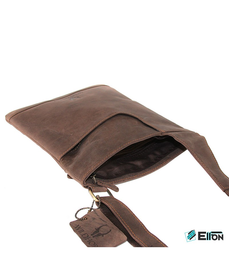 Hunterleder Umhängetasche Handtasche MB207, Art.:000284