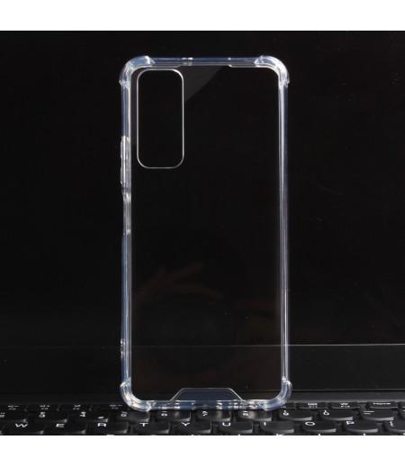 Vorpräparierte Hülle mit LöchernTPU+PC hart kristallklar für Huawei P Smart 2021, Art.:000004