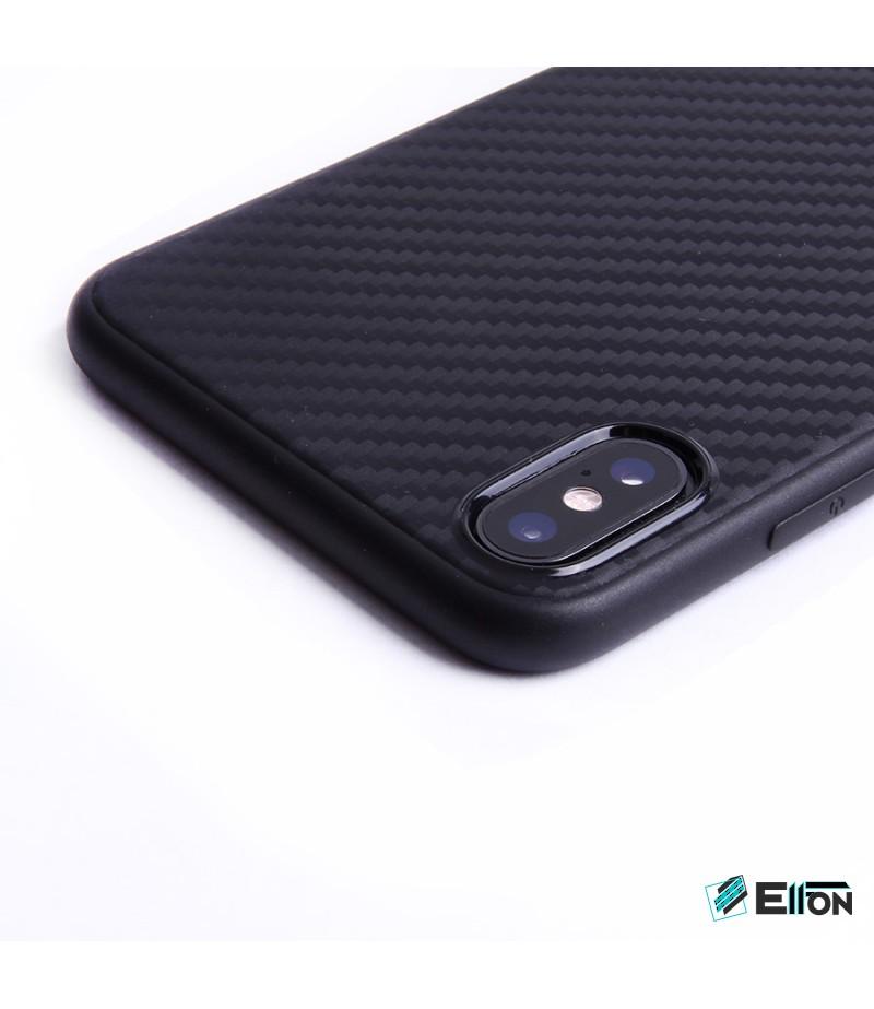 Carbon Cover für Samsung Galaxy A7 (2018)/ A8 Plus (2018), Art.:000475