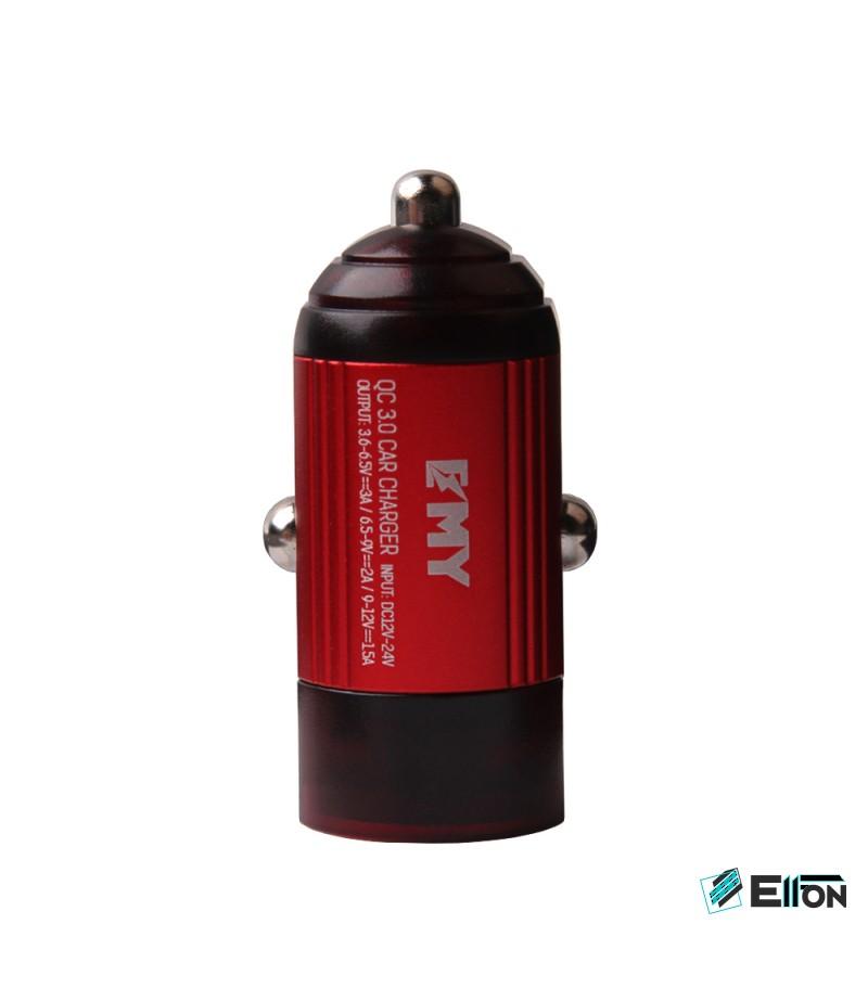 EMY MY-118 Mini KFZ Schnellladegerät mit Micro USB Kabel 3.0 A, Art.:000059