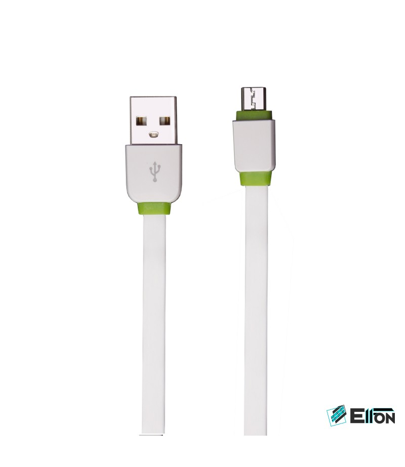 EMY MY-265 3-fach USB-Adapter 3.4A mit Micro USB Kabel 1m, Art.:000064