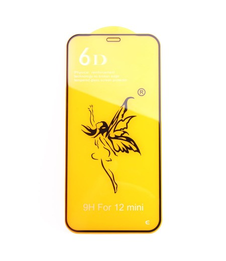 Full Glue Curved Tempered Glass Screen Protector für iPhone 12 Mini (5.4), Art:000298